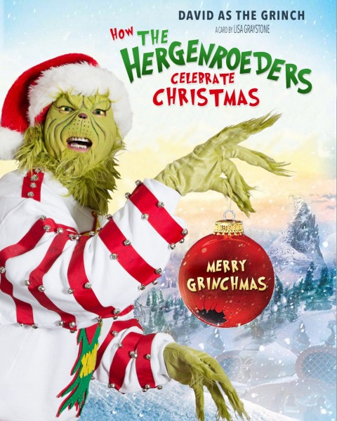 Our Grinchmas Card Cover