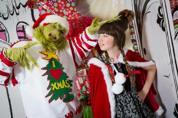 The Grinch and Little Cindy Lou Who