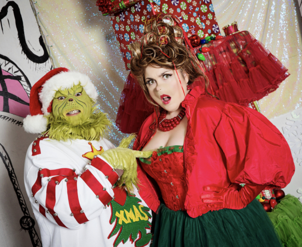 Martha May Whovier and the naughty Grinch