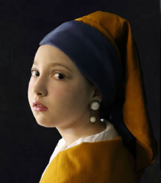 """The Girl With The Pearl Earring"""